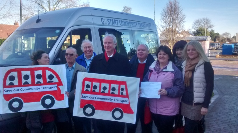 Community Transport - hadleigh launch