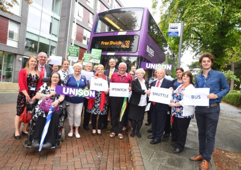 Thank You 'Save the Ipswich Shuttle Bus' Campaigners